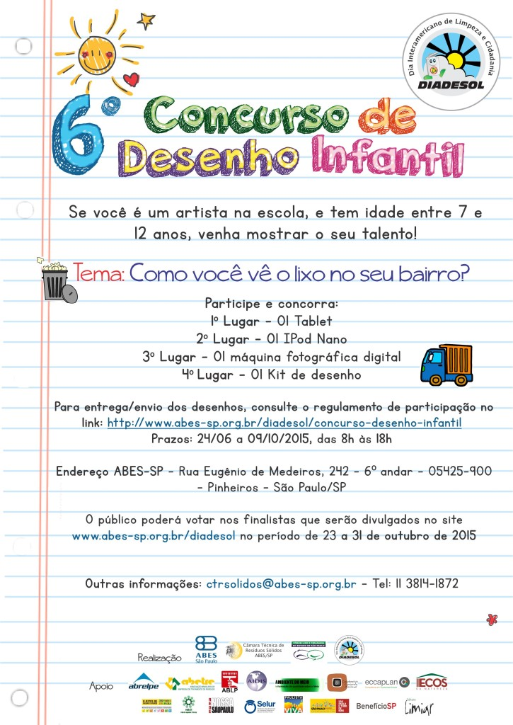 6º Concurso de Desenho Infantil (2)